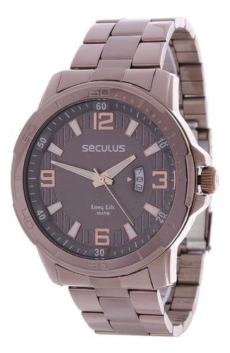 Relógio Masculino Long Life 10atm Seculus 24977