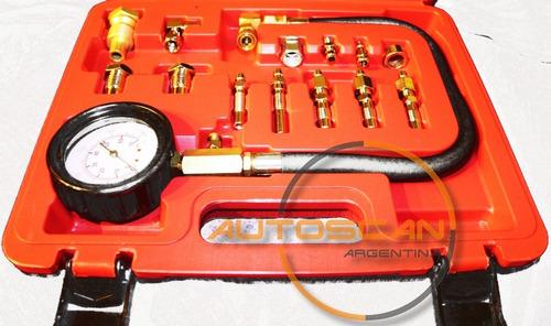 Compresometro Diesel Autos Y Camionetas Eurotech + Dvd