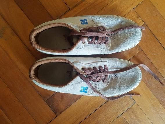 Zapatillas Dc Beige