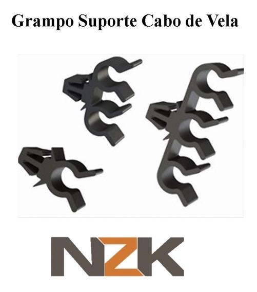 Kit De Grampos Suporte Cabo De Vela Gm Agile Celta Corsa S10