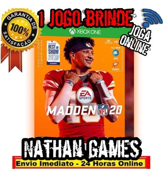 Madden Nfl 20 Digital + Brinde - Xbox One