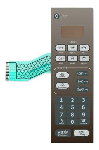 Imagem 1 de 3 de Teclado De Membrana Microondas Consul Cmo20 Cmo 20 Espelhado