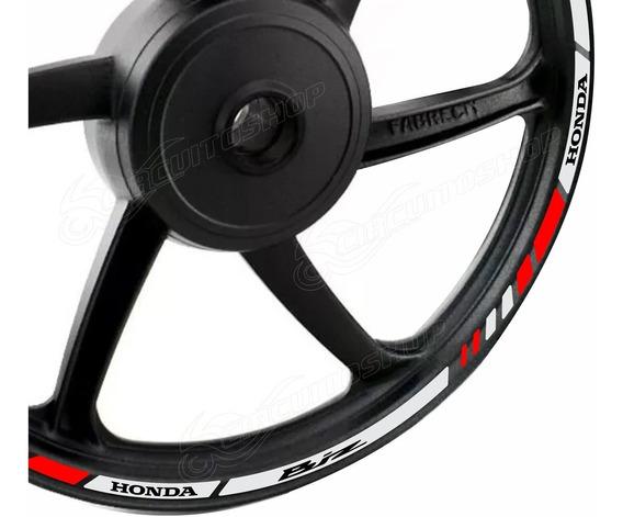 Friso Adesivo Refletivo M6 Roda Moto Honda Biz 125 100