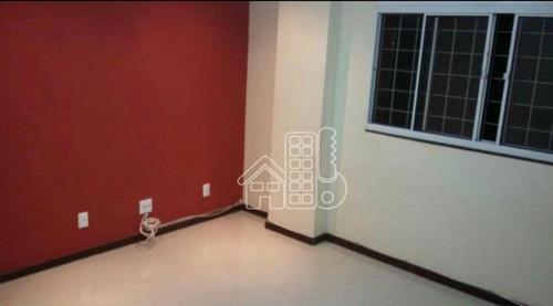 Apartamento Com 2 Dormitórios À Venda, 63 M² Por R$ 185.000,00 - Cubango - Niterói/rj - Ap2930