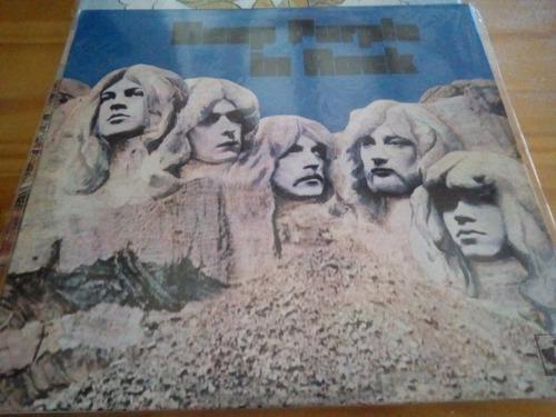 In Rock - Deep Purple - Vinilo - Nuevo 2020