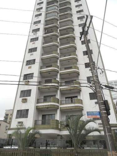 Apartamento Com 2 Dorms, Canto Do Forte, Praia Grande - R$ 500 Mil, Cod: 132 - V132