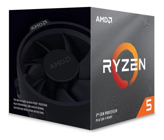 Processador Amd Ryzen 5 3600x Cache 32mb 3.8ghz (4.4ghz Max