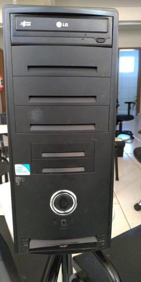 Cpu Computador Intel Pentium Dual-core Com Ssd 120gb Windows 10 Pro Original