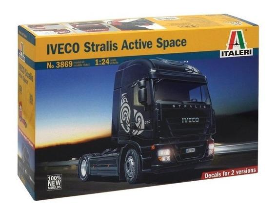 Kit Caminhao Iveco Stralis Escala 1/24 Italeri Ñ Scania Man