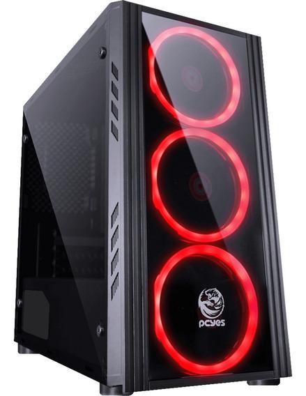 Pc Mikatech Gamer - Ryzen- 8gb Ddr4- Ssd 480gb Gtx1050ti.