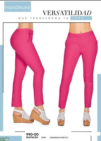 Pantalon Cklass Rosa Chicle 990-00 Primavera Verano 2019