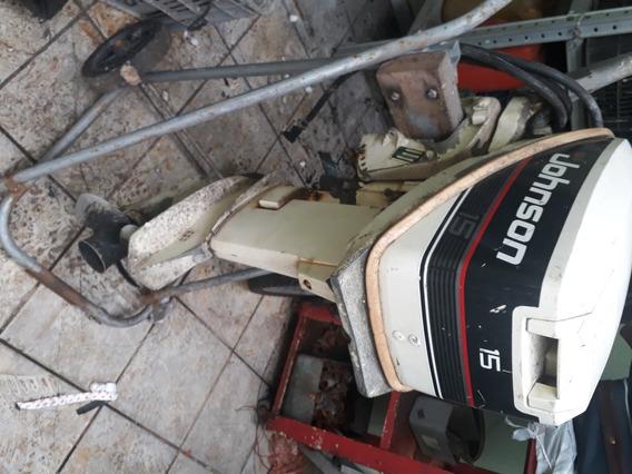 Motor De Popa De Barco Johnson 15 Hp