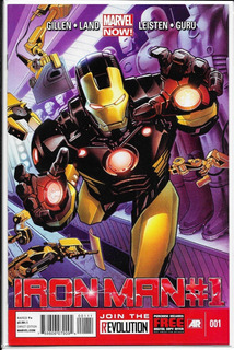 Iron Man Vol 5 #1 Portada Regular