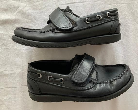 Entile. Zapatos Escolares Con Velcro. Niños. Talle 31