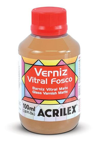 Verniz Vitral Fosco 100ml Acrilex