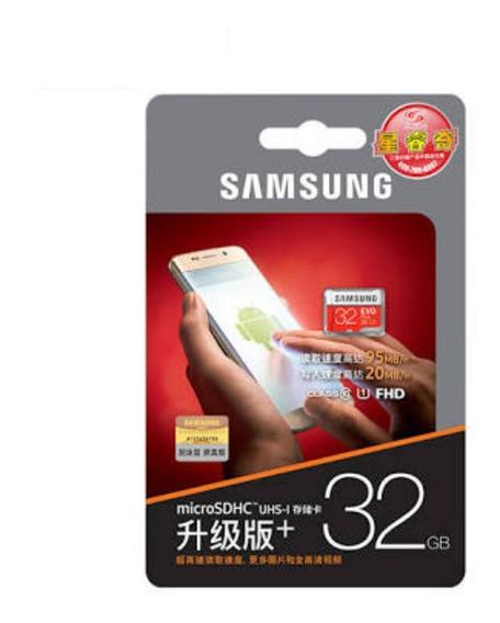 Cartão Memória Samsung Micro Sd 32gb Classe 10 Carta Registr