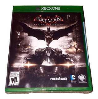 Batman Arkham Knight Xbox One Físico, Nuevo, Sellado
