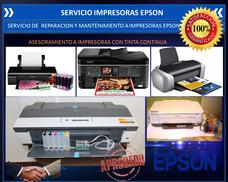 Reparación Y Servicio Impresoras Epson Hp Laser E Inyeccion