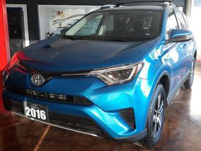 Toyota Rav4 2016, Motor 2.5 Lts, Xle 4wd Automática