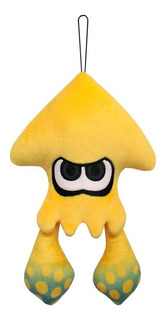 Peluche Splatoon 2 Inkling Squid Little Buddy Amarillo /u