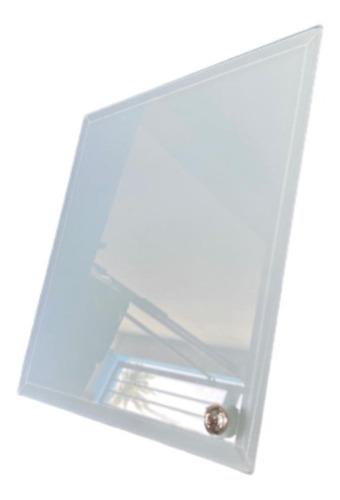 Imagen 1 de 2 de Porta Retrato De Cristal 20x20 Cms