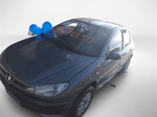 Imagem 1 de 8 de  Peugeot 206 Feline 1.6 16v Flex