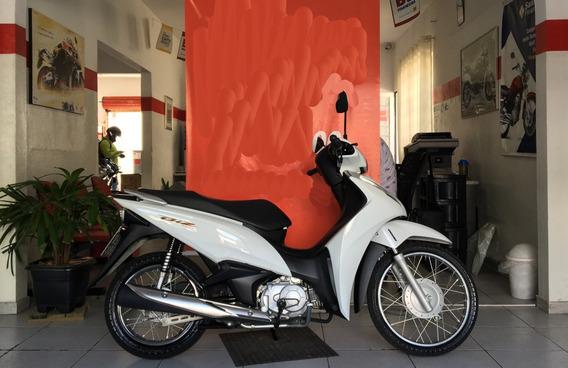 Honda Biz 100 Es Branca 2018