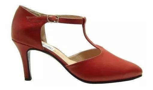 Zapatos De Tango De Cuero - Calzados Union