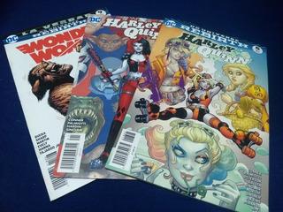 Comics Variados: Flash, Harley Quinn, Suicide Squad, Etc