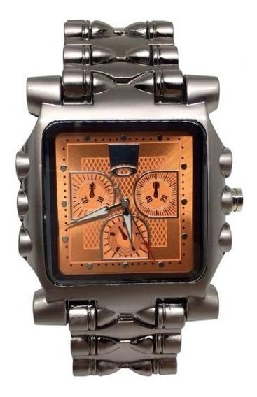 Relógio O.a.k.l.e.y - Time Tank Minute Machine Com Garantia
