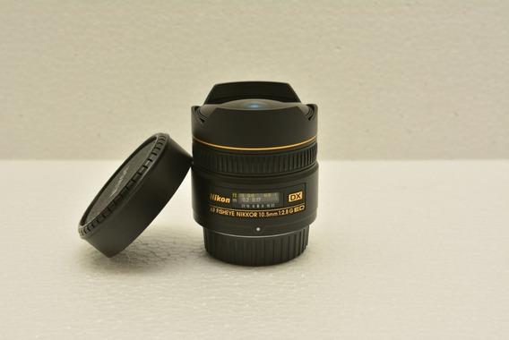 Lente Nikon Fisheye 10.5mm F2.8 - Impecável