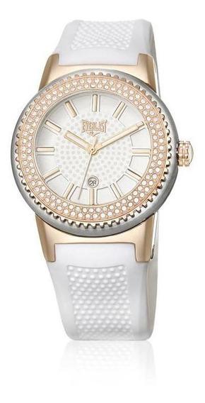 Relógio Pulso Everlast Pulseira Silicone Feminino E457
