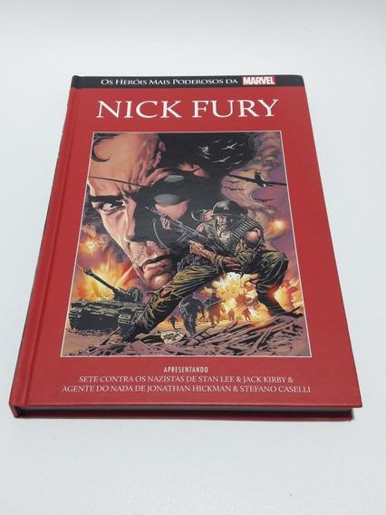 Salvat Heróis Mais Poderosos Da Marvel Nº 25 - Nick Fury
