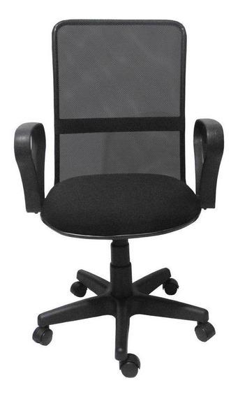 Cadeira De Escritório Giratória Preta - Fortt - 4181a