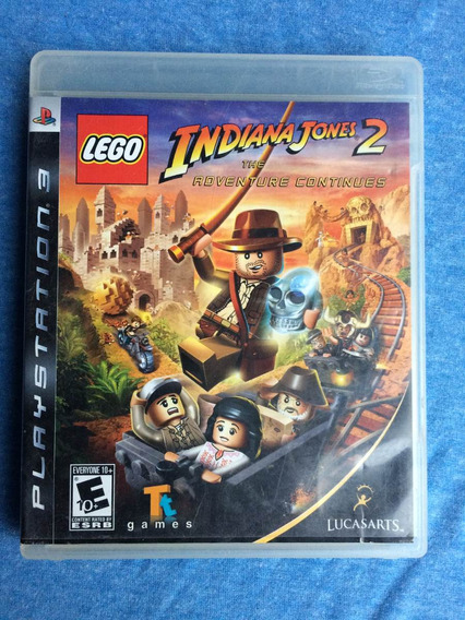 Lego Indiana Jones 2 The Adventure Continues Ps3 Frete R$10