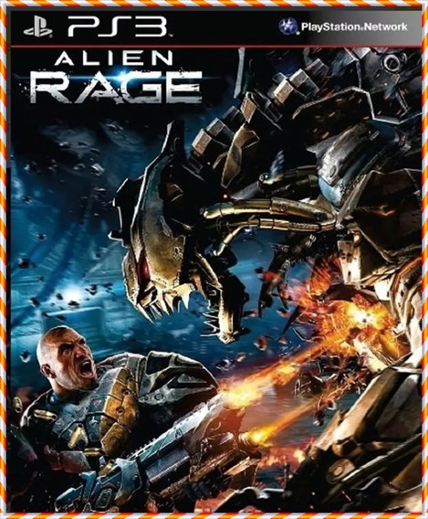 Alien Rage Ps3 Psn Envio Rápido Jogo Original