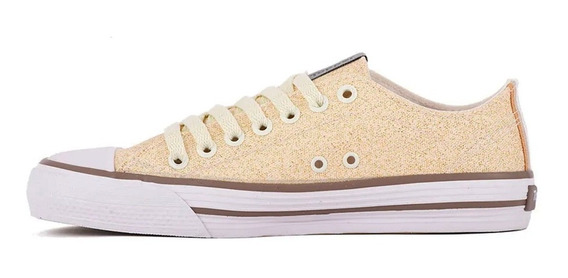 Zapatillas Topper Rail Glitter Lady Dorado (9962)