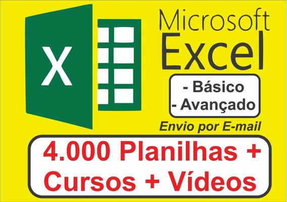 Curso Excel Em Video Aula Do Básico Ao Avançado