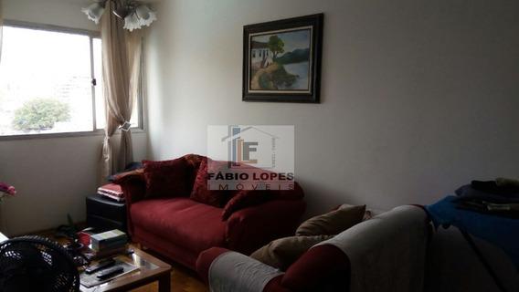 Apartamento A Venda No Bairro Bela Vista Em Santo André - - 890-1