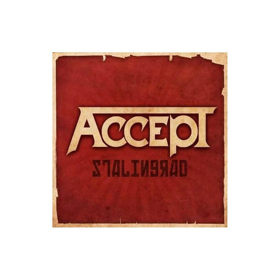 Accept Stalingrad Usa Import Cd Nuevo