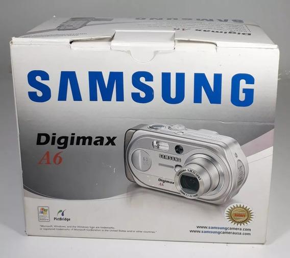 Câmera Fotográfica Samsung Digimax A6 No Estado