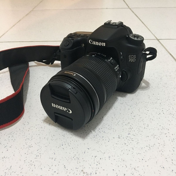 Canon Eos 700d Digital + Lente 18-135