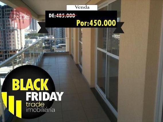 Apartamento Com 3 Dormitórios À Venda, 97 M² Por R$ 485.000,00 - Jardim Botânico - Ribeirão Preto/sp - Ap0895