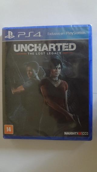Uncharted The Lost Legacy Ps4 -mídia Física - Novo E Lacrado