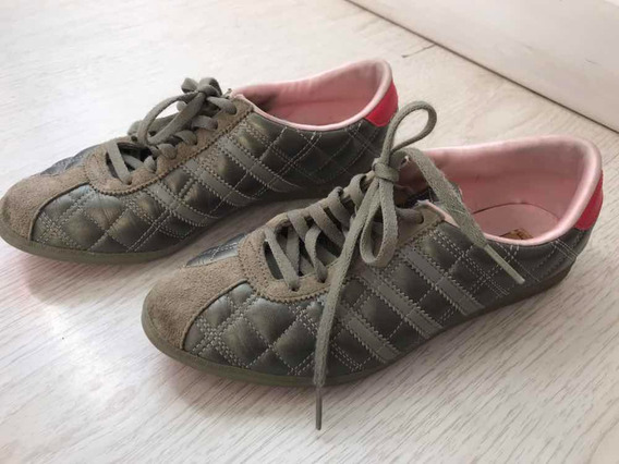 Zapatillas De Cuero adidas Impecables