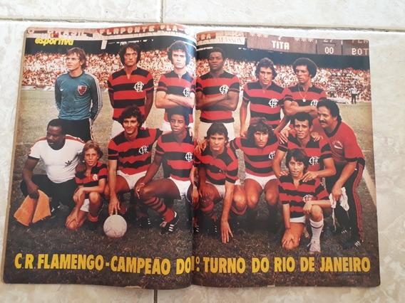 Manchete Esportiva # 76 Pôster Flamengo Campeão