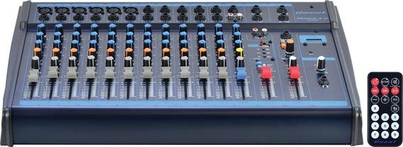 Mesa De Som Oneal 12 Canais Omx-12usb - Usb - Efeito De Voz