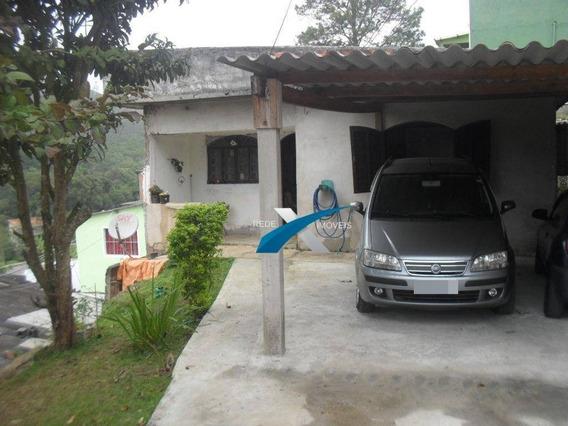 Casa À Venda 2 Quartos 60 M² Por R$ 220.000 - Quarta Divisão - Ribeirão Pires/sp - Ca0602