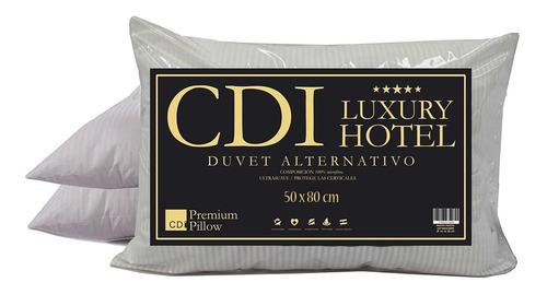 Imagen 1 de 6 de Almohada Simil Duvet Cdi Hotel 80x50cm