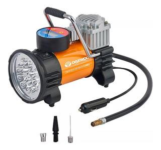 Compresor De Aire Daewoo Para Auto Dw65l 12v Con Luz